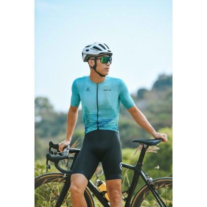 2021 SKULL MONTON MENS SHORT SLEEVE CYCLING JERSEY URBAN NATURE / BAJU BASIKAL ALAM SEMULA 2021