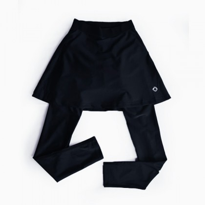 Lokka women Long skirt cycling pants - Seluar basikal panjang skirt
