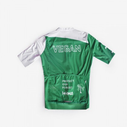 LOKKA VEGAN PROTECT OUR FOREST CYCLING JERSEY