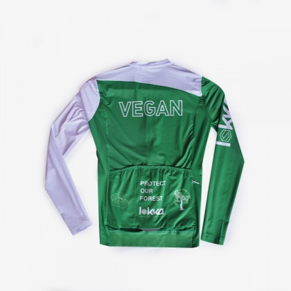 LOKKA VEGAN PROTECT OUR FOREST CYCLING JERSEY LONG SLEEVE