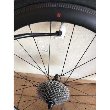 Beginner Bicycle Air Pump Gauge High Pressure Bike Tire Inflator (meter version) with pressure pump basikal dengan meter