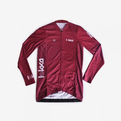 LOKKA Fruit Grapes red cycling jersey