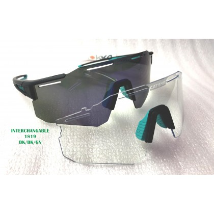 Cateye 2021 Sunglasses Photochromic Polarized cycling running Sports Outdoor twins lens