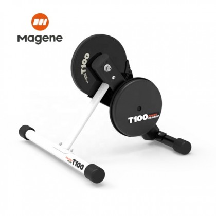 Ready stock Magene T100 FULL SET with Power semi smart Trainer can pair zwift onelap