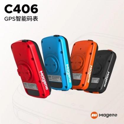 C406 GPS Bike Computer GPS Upload strava can pair with cadence and heart rate meter basikal gps mampu milik English Ver
